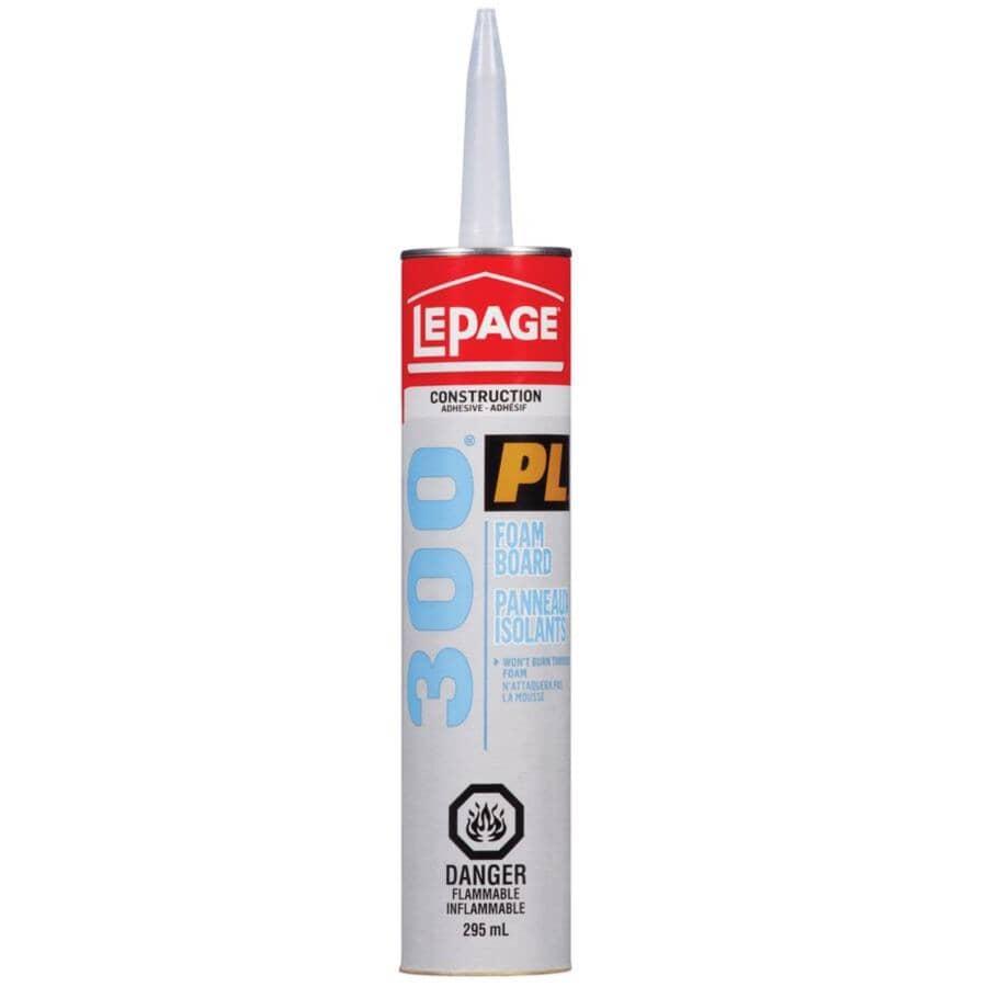 LEPAGE:PL 300 Foam Board Construction Adhesive - 295 ml