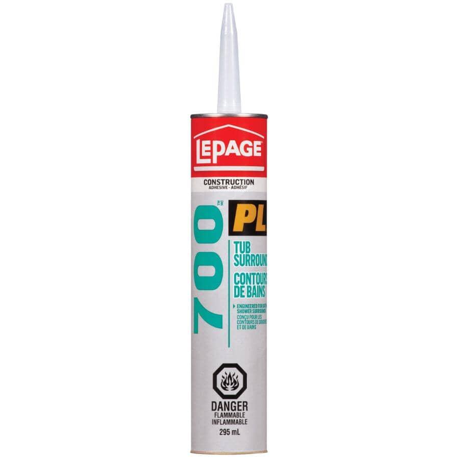 LEPAGE:PL 700 Tub Surround Construction Adhesive - 295 ml