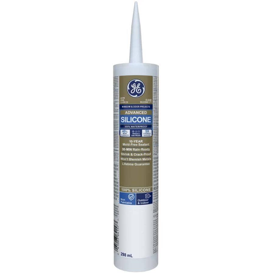 GE:Multi Purpose Silicone II Sealant - Clear, 299 ml