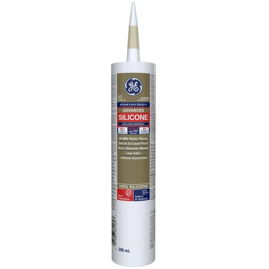 GE:Kitchen & Bath Silicone II Sealant - Almond, 299 ml