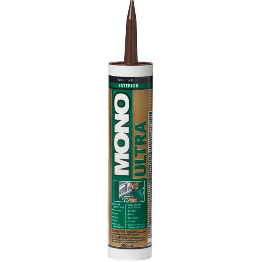 MONO:Ultra Exterior Acrylic Sealant - Brown, 300 ml