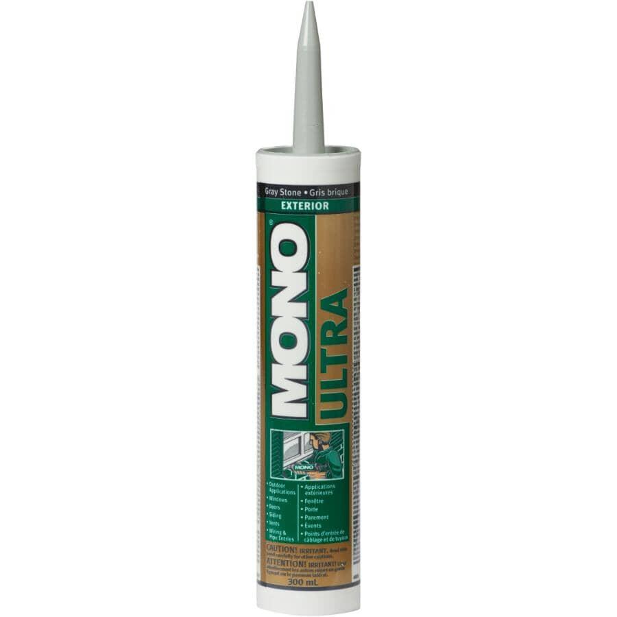 MONO:Ultra Exterior Acrylic Sealant - Grey Stone, 300 ml