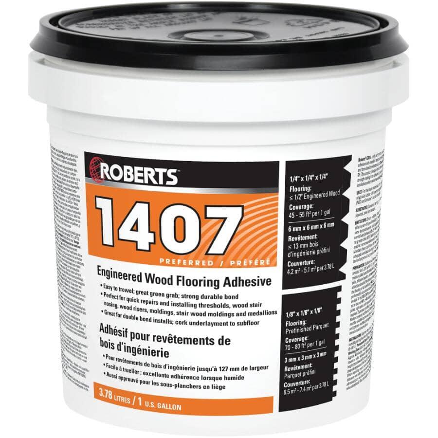 ROBERTS:3.78 Litres Wood Floor Adhesive