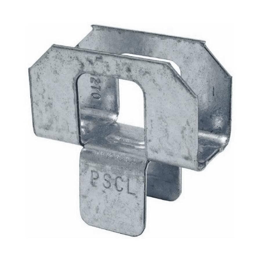 SIMPSON STRONG-TIE:Paquet de 50 attaches galvanisées de calibre 20 pour toit, 3/8 po