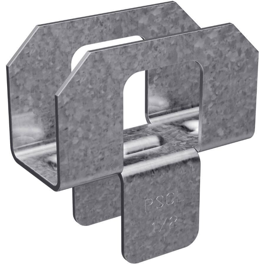 SIMPSON STRONG-TIE:Paquet de 250 attaches galvanisées de calibre 20 pour toit, 1/2 po