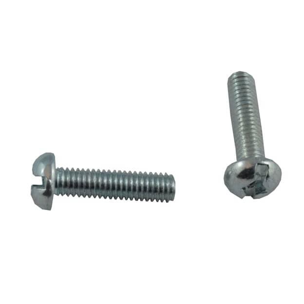 """HOME BUILDER:100 Pack #10-32 x 3/4"""" Zinc Plated Round Machine Screws"""