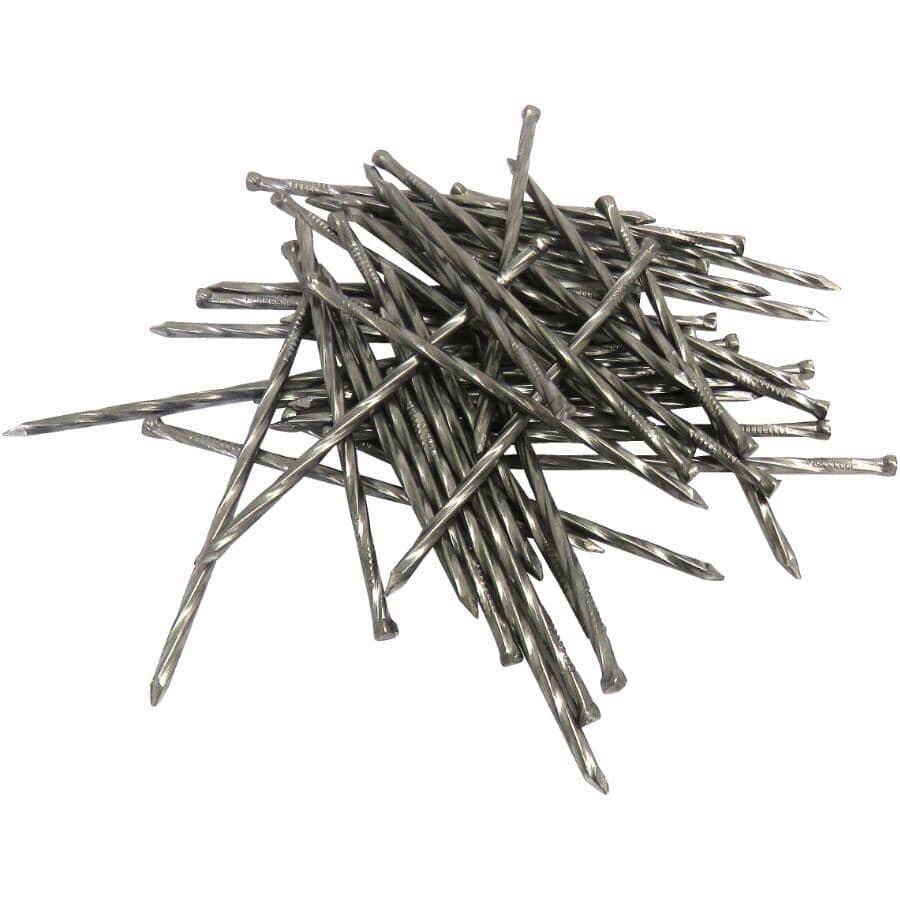 "TREE ISLAND:150 Pack 2-1/2"" Ardox Spiral Finishing Nails"