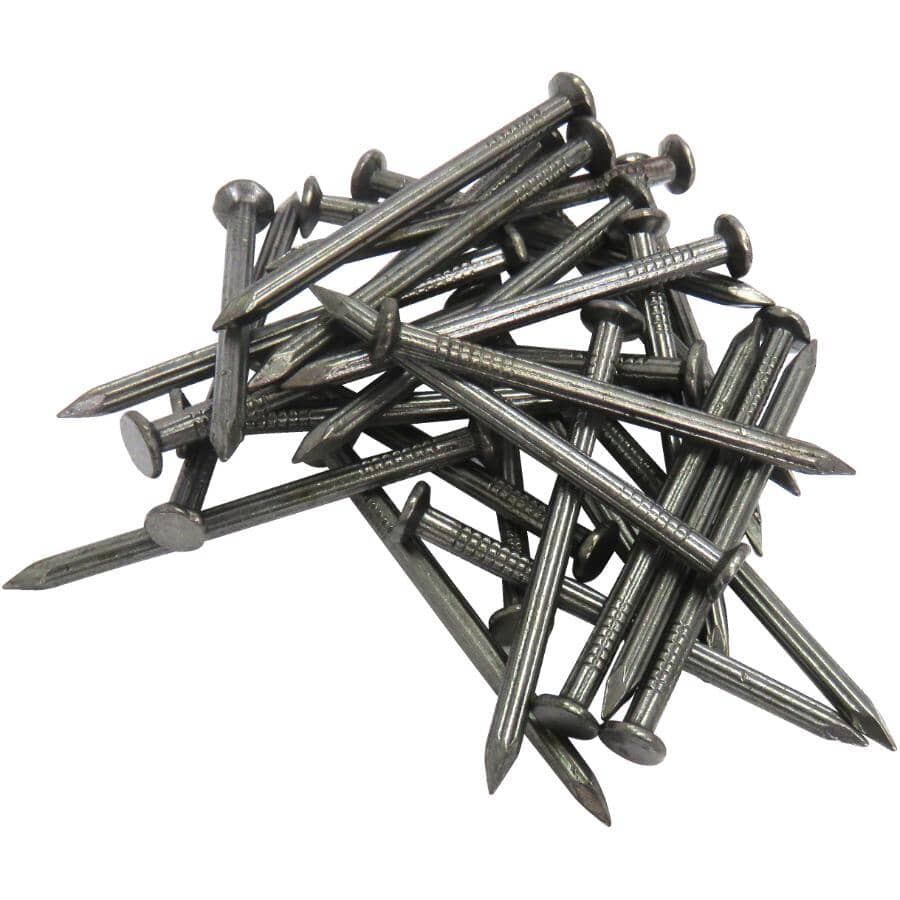 """TREE ISLAND:150 Pack 1"""" Fluted Concrete Nails"""