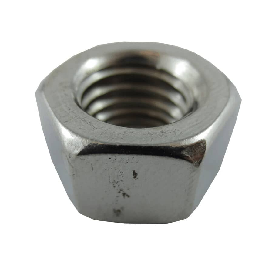 """HOME PAK:25 Pack 1/2""""-13 18.8 Stainless Steel Coarse Hex Nuts"""
