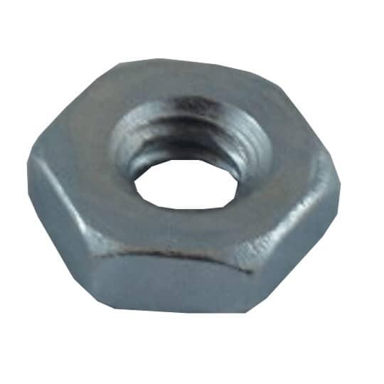 HOME PAK:10 Pack #10-24 Zinc Plated Machine Hex Nuts