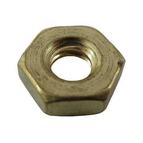 HOME PAK:5 Pack #10-32 Brass Machine Hex Nuts
