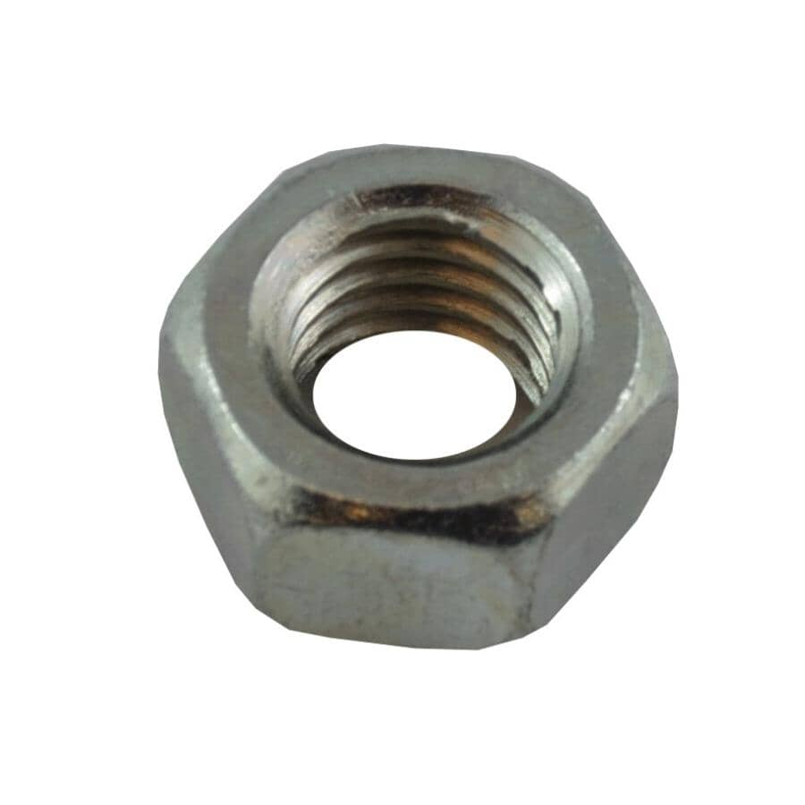 """HOME BUILDER:1/2""""-13 #5 Zinc Plated Coarse Hex Nut"""