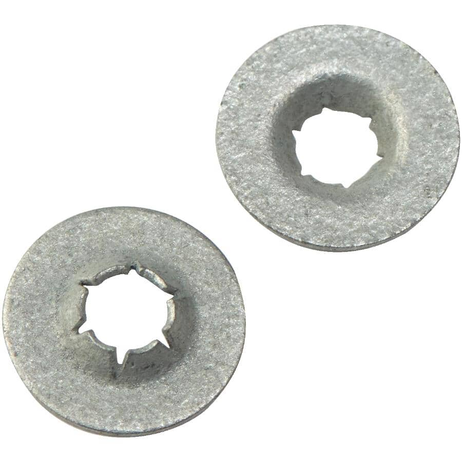 """HOME PAK:2 Pack 1/8"""" Push-On Nuts"""