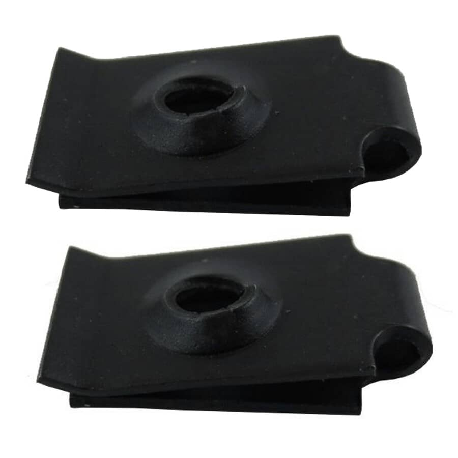 HOME PAK:2 Pack #8 Formed Type Push-On Speed Nuts