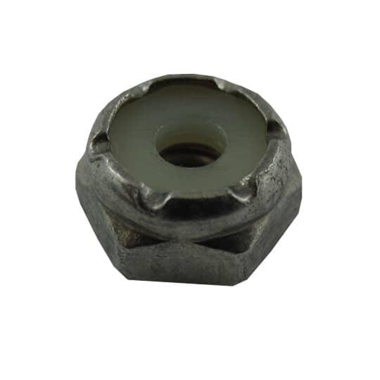 HOME PAK:5 Pack #6-32 18.8 Stainless Steel Nylon Insert Lock Nuts