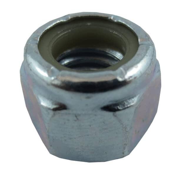 "HOME PAK:5 Pack 3/8""-16 Zinc Plated Nylon Insert Lock Nuts"