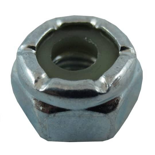 HOME PAK:25 Pack #10-32 Zinc Plated Nylon Insert Lock Nuts