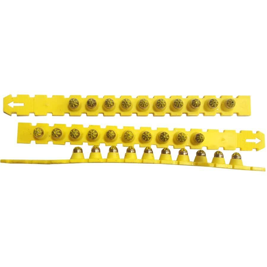 RAMSET:100 Pack 27 Caliber Yellow Strip Power Loads