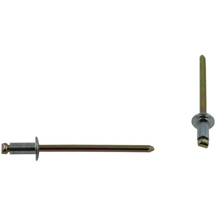 "BENCHMARK:15 Pack 1/8"" Long Steel Rivets"
