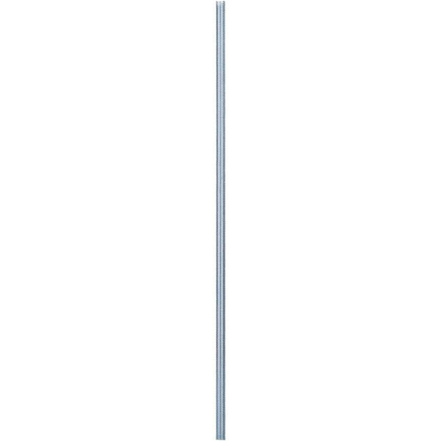 "BUILDER'S HARDWARE:5/8""-11 x 2' Zinc Plated Threaded Rod"