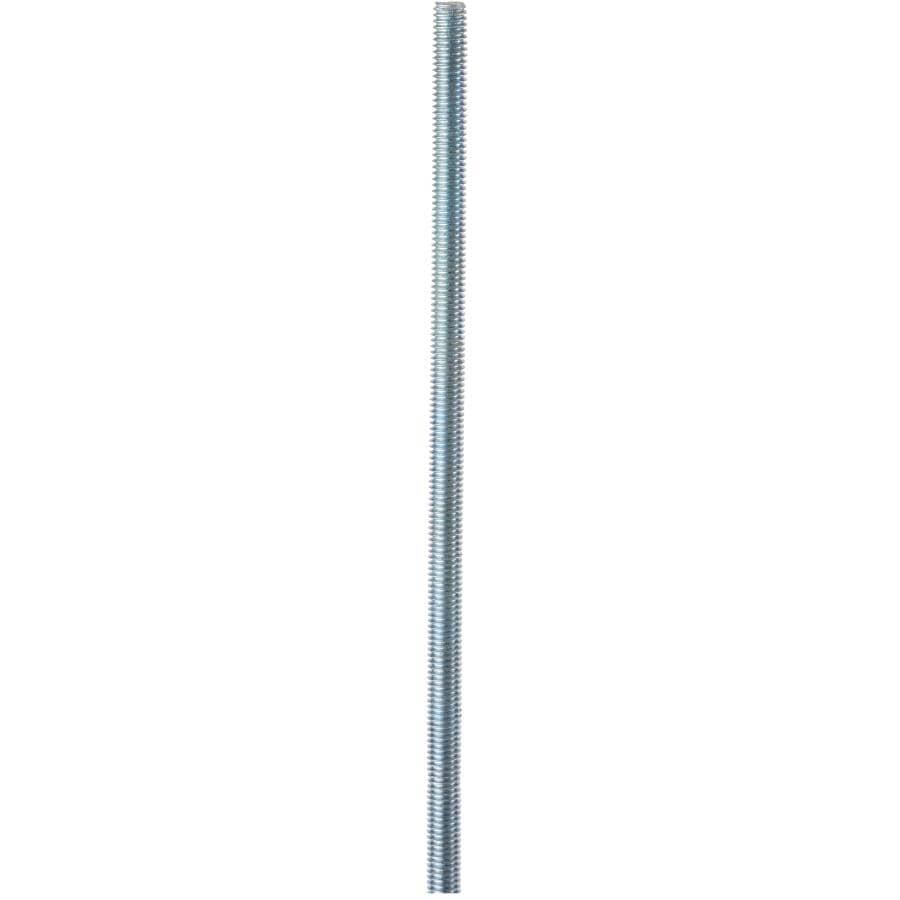 "HOME BUILDER:3/8""-16 x 6' Zinc Plated Threaded Rod"