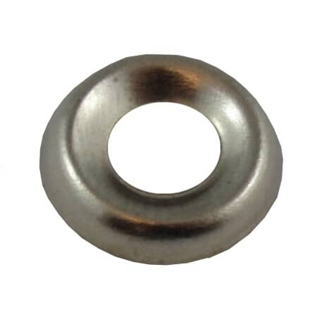 HOME BUILDER:#6 Nickel-Plated Steel Finish Washer