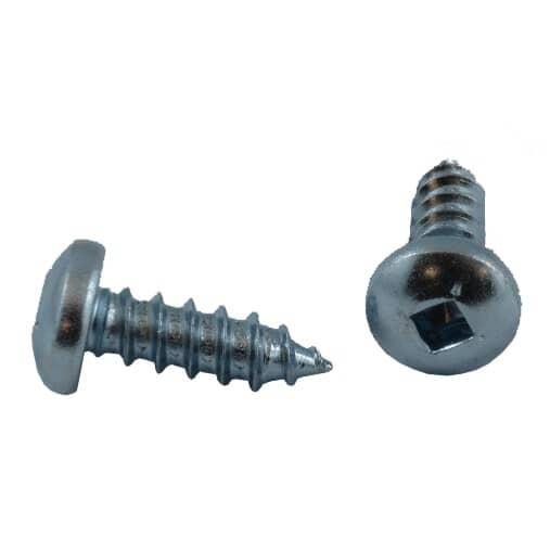 "HOME PAK:10 Pack #14 x 3/4"" Pan Head Socket Zinc Plated Tap Screws"