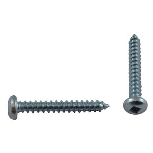 """HOME BUILDER:100 Pack #6 x 1"""" Pan Head Socket Zinc Plated Tap Screws"""