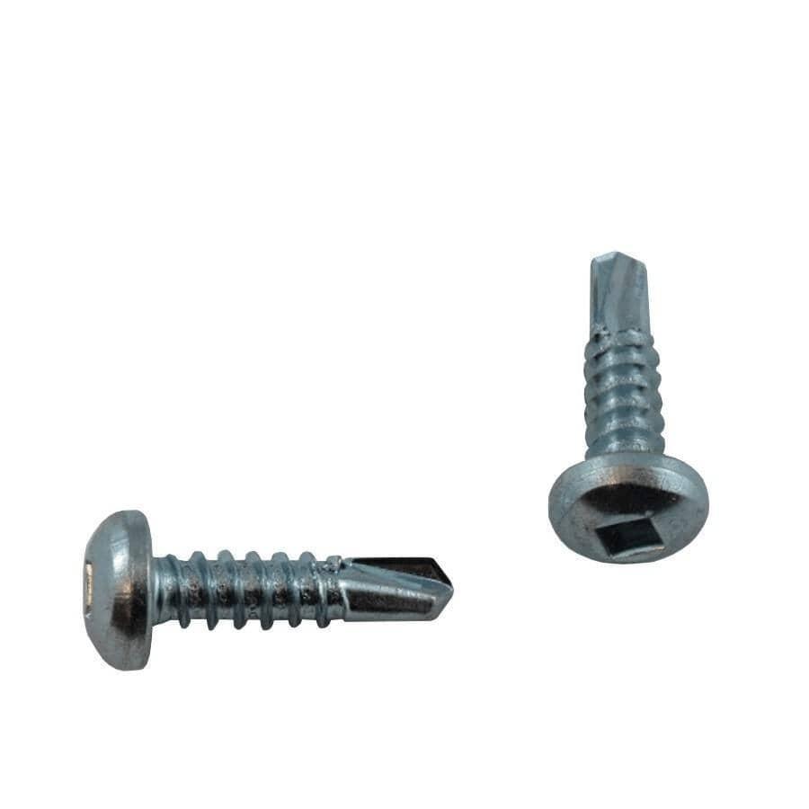 """HOME BUILDER:10 Pack #8 x 3/4"""" Pan Head Self-Drilling Tap Screws"""