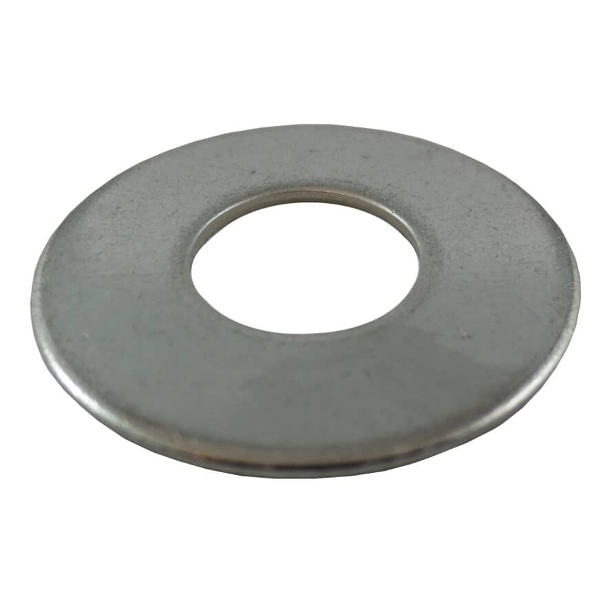 """HOME PAK:25 Pack 1/2"""" 18.8 Stainless Steel Flat Washers"""