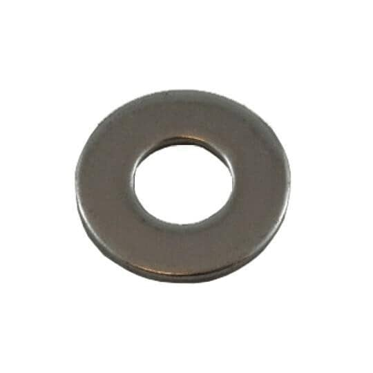 """HOME PAK:25 Pack 1/4"""" 18.8 Stainless Steel Flat Washers"""