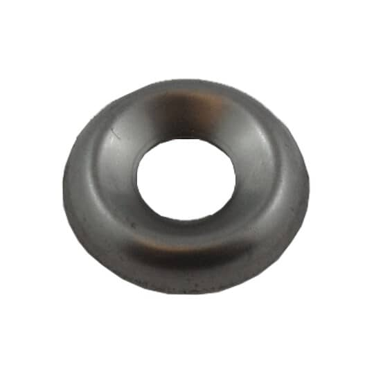 """HOME PAK:10 Pack 1/4"""" 18.8 Stainless Steel Finish Washers"""