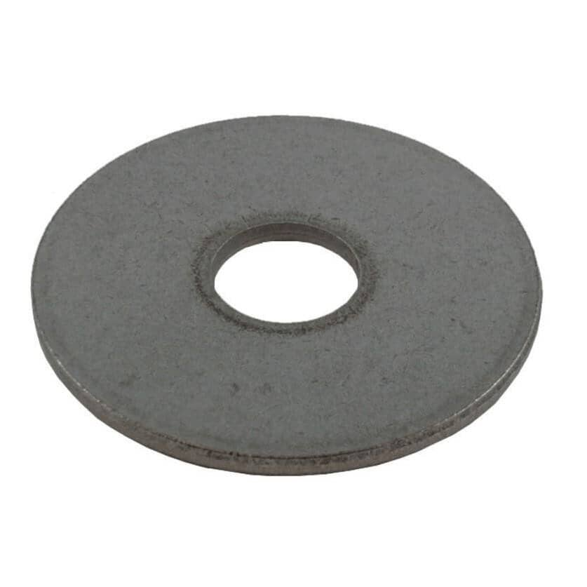 """HOME PAK:5 Pack 1/2"""" x 2"""" 18.8 Stainless Steel Fender Washers"""
