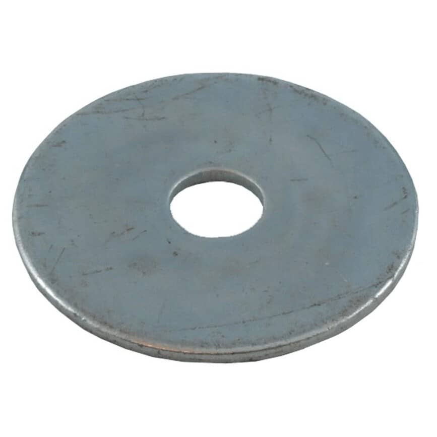 """HOME PAK:10 Pack 5/16"""" x 1-1/2"""" Zinc Plated Fender Washers"""