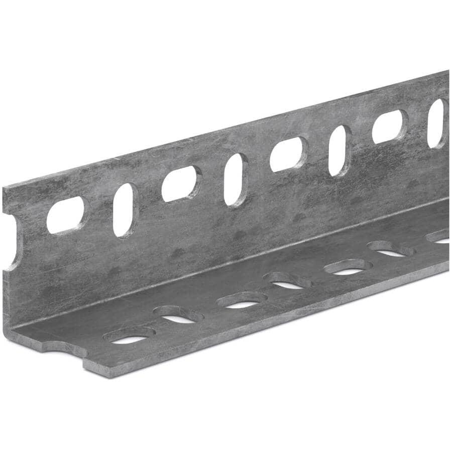 """ONWARD:1-1/2"""" x 36"""" Galvanized Slot Steel Welded Angle"""