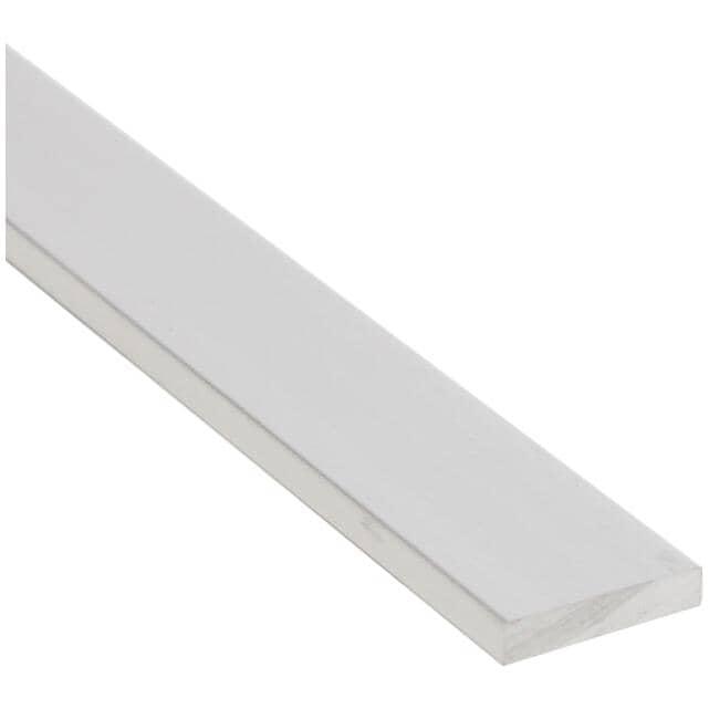 """SHUR-TRIM:3/4"""" x 8' Aluminum Brite Clear Flat Bar"""