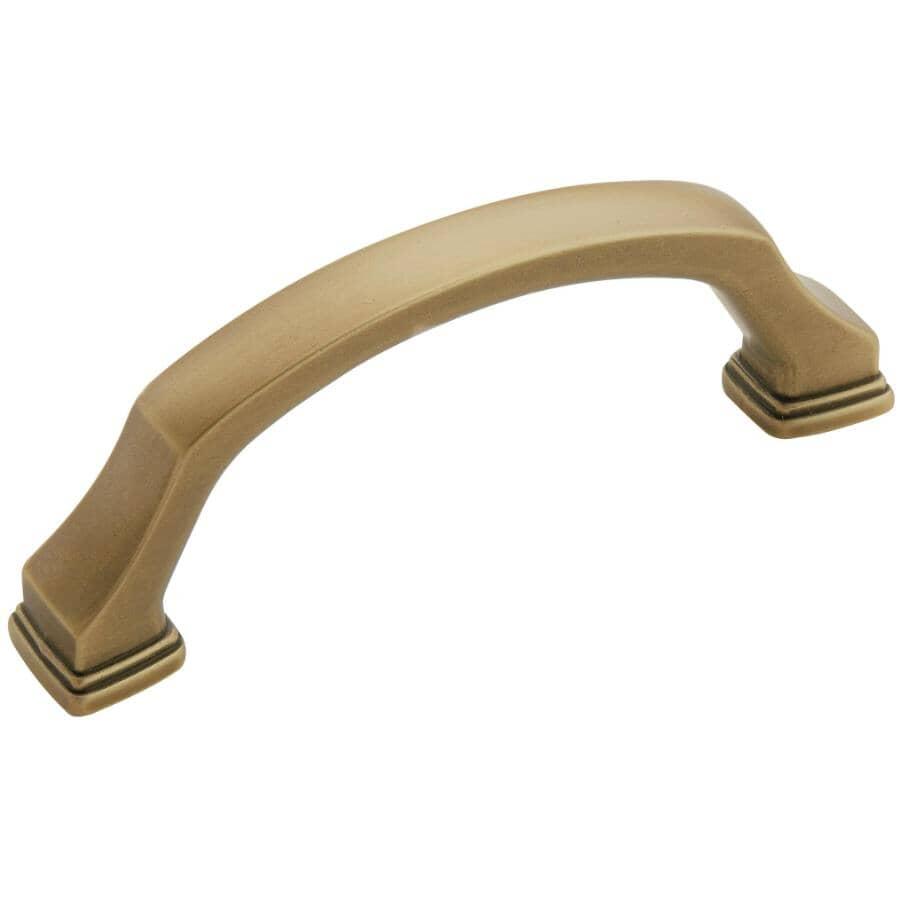 AMEROCK:Poignée d'armoire Revitalize de 3 po, bronze doré