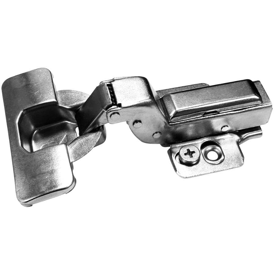RICHELIEU:105 Degree Inset Concealed Cabinet Hinges - with Plate, 2 Pack