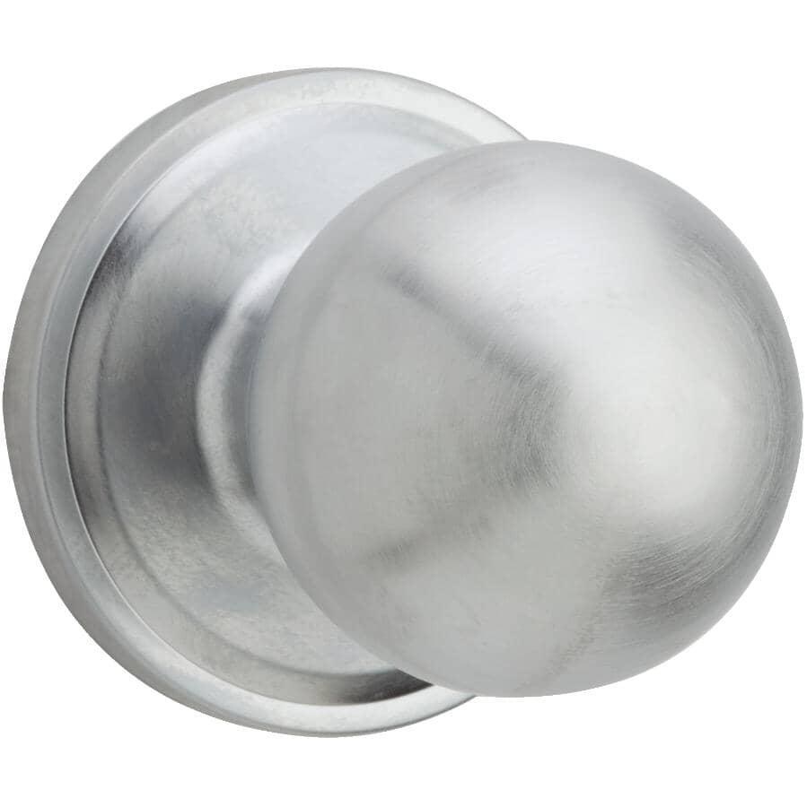 WEISER LOCK:Satin Chrome Huntington Passage Door Knobset