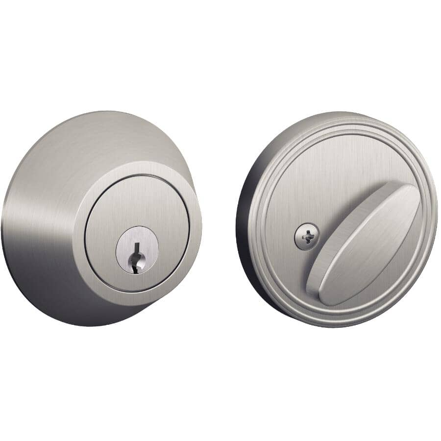 DEXTER:Stainless Steel Single Cylinder Deadbolt Lock