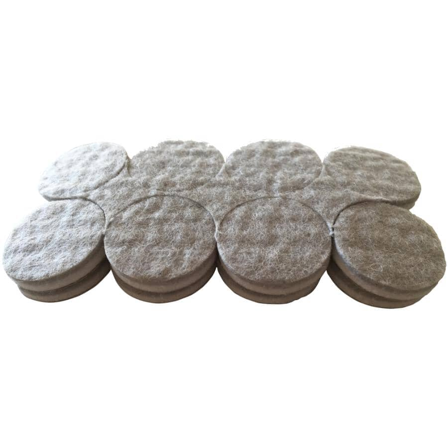 """SHEPHERD HARDWARE PRODUCTS:16 Pack 1"""" Commercial Felt Pads"""