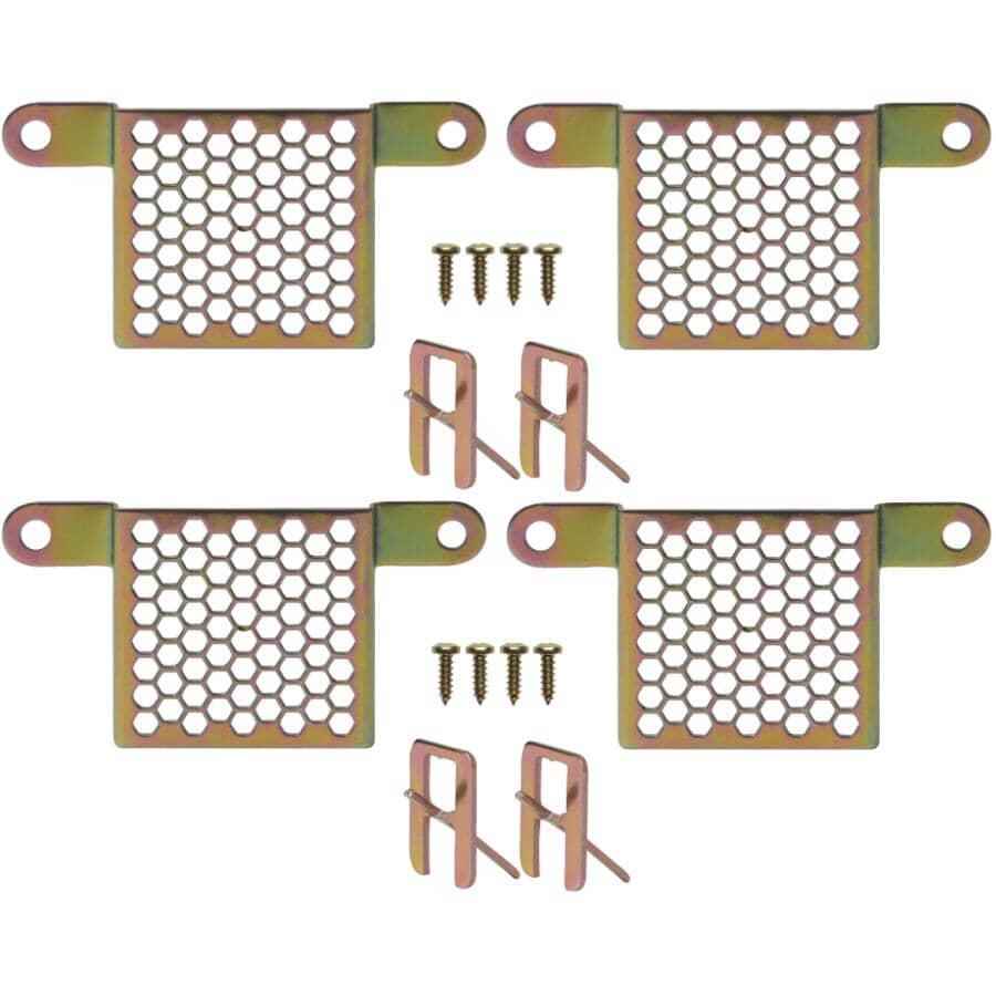 HOMEWARES:4 Pack Original Beehive Picture Hangers