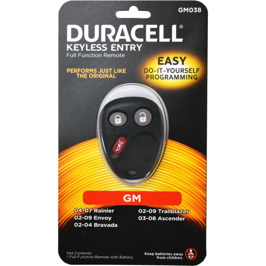 DURACELL:3 Button GMC Keyless Fob