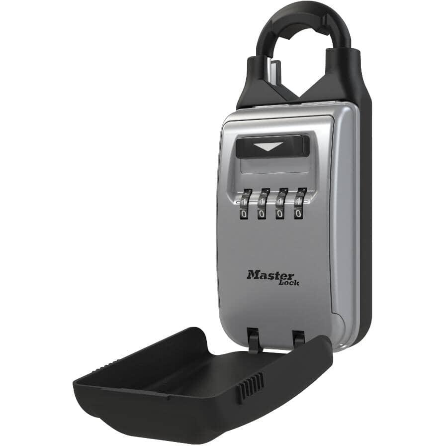 "MASTER LOCK:2-7/8"" Portable Combination Key Safe"