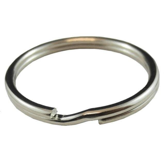 """HOME PAK:1-1/4"""" Split Key Rings - 5 Pack"""