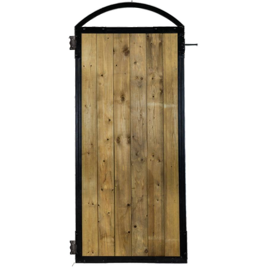 NUVO IRON:6 Board Black Gate Frame, with Hardware
