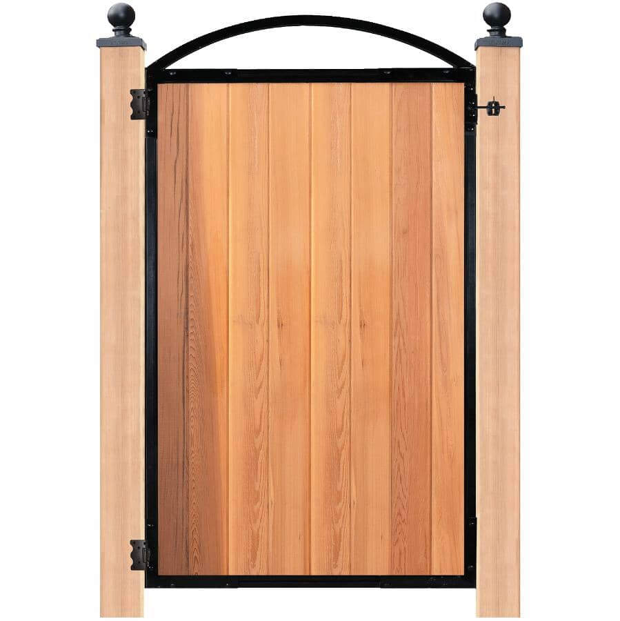NUVO IRON:8 Board Black Gate Frame, with Hardware