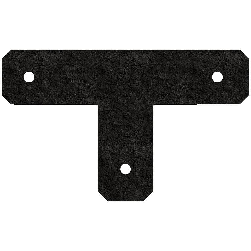 """SIMPSON STRONG-TIE:Avant T Strap Tie - for 4"""" x 4"""" Lumber"""