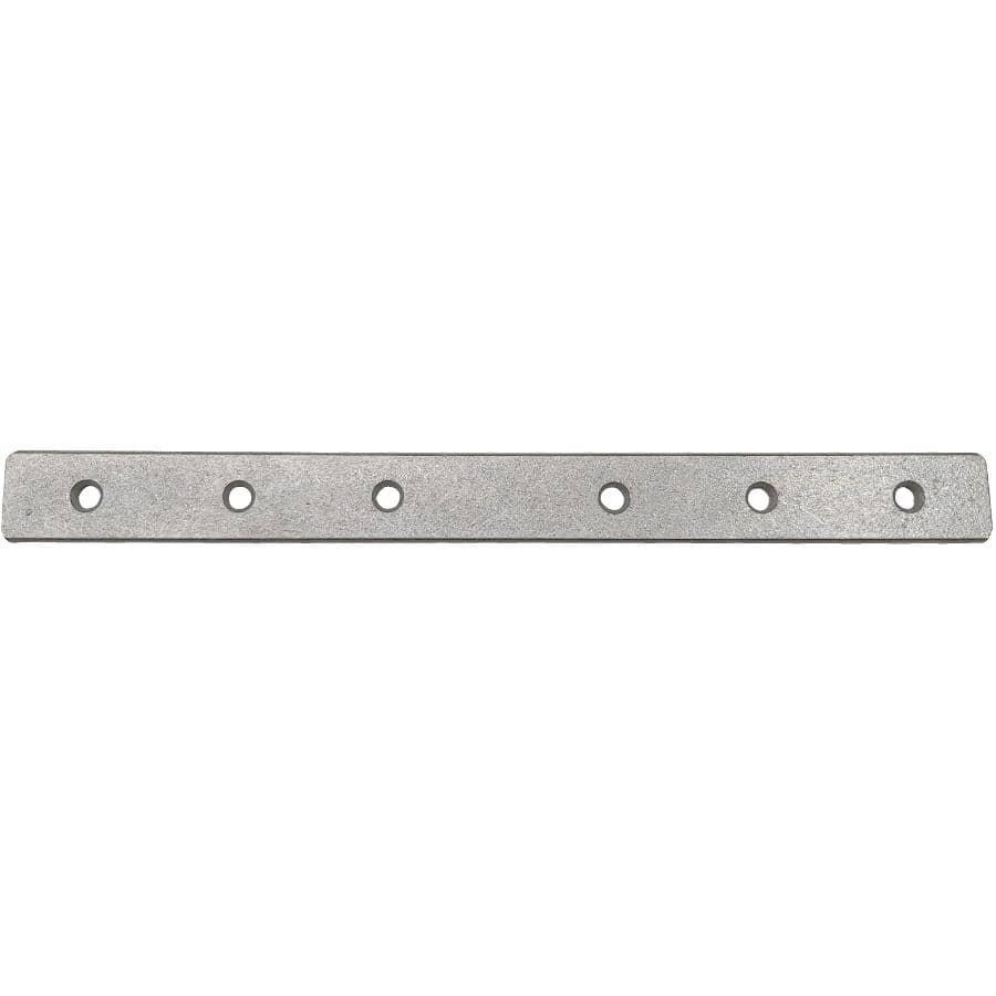 "BUILDER'S HARDWARE:12"" x 1-1/8"" Galvanized Mending Plate"