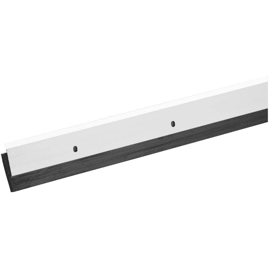 """CLIMALOC:Door Sweep - Aluminum + Neoprene, 1/8"""" x 1-3/4"""" x 3"""""""